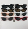 CAT SHAPE FRAMES, ASSORTED COLORS SUNGLASSES