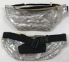 CLEAR-IRIDECENT SNAKE SKIN STYLE FANNY PACK