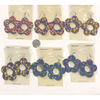 DAISY SHAPE EARRING IN 6 DIFFERENT COLOR COMBOS