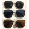 SQUARISH METAL FLAT STYLE METAL FRAMES DARK LENSES