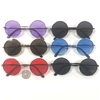 LENNON SUNGLASSES, DARK LENS, BLUE, PURPLE, RED, SPRING TEMPLES