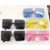 RECTANGLE COOL  SUNGLASSES MANY COLORS, metal arms