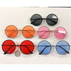 LARGE ROUND COLOE FRAMES SUNGLASSES WITH METAL DESIGN
