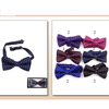 SMALL DIAMONDS IN ASSORTED FALL COLOR BOW TIES