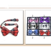 BOW TIES PLAID PRINTS, 6 COLORS