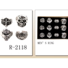 SKULL RINGS, 4 DIFFERENT STYLES, MENS SIZES ASST
