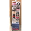 CARD BOARD DISPLAY UNIT, HOLDS 72 PIECES.