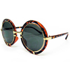 ROUND  STEAMPUNK SUNGLASSES  4 PIECES  LEFT