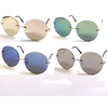 FRAMELESS COOL ROUND REVO LENSES WITH METAL ARMS SUNGLASSES