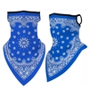NECK GAITORS VERY NICE QUALITY, ROYAL BLUE BANDANNA LOOK