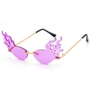FLAMES FUNKY ASSORTED COLORS SUNGLASSES