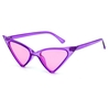 CATEYE FUNKY SHAPE ASSORTED COLOR SUNGLASSES