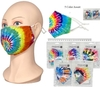 FACE MASKS ASSORTED TYE DYES