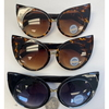 CAT STYLE LOOKING LARGE SUNGLASSES, LIMITED STOCK