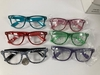 CLEAR LENS CHECKERBOARD PRINT  FRAMES, LIMITED STOCK