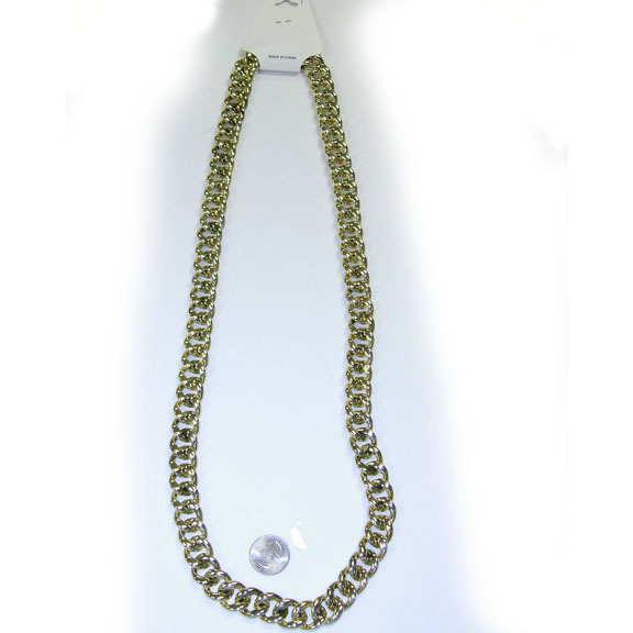 GOLD CHAIN 36 INCH NECKLACE STYLE 1
