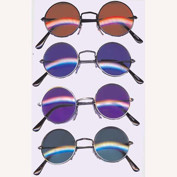 LENNONS DARK COLOR LENS SUNGLASSES