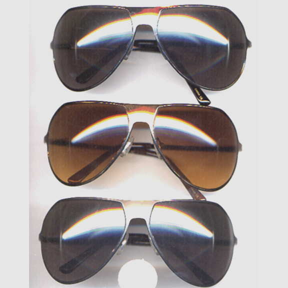 AVIATORS TYPE SUNGLASSES WITH MORE OF A CURVE TOP
