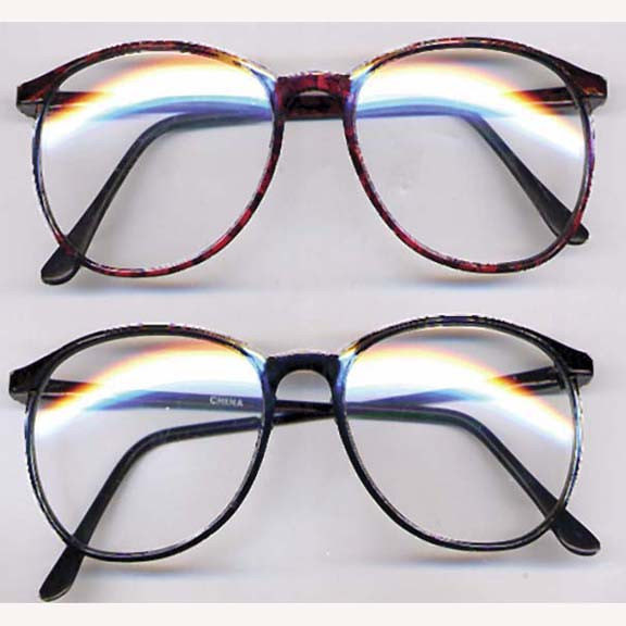 CLEAR CLARK KENT TYPE CLEAR LENS  GLASSES