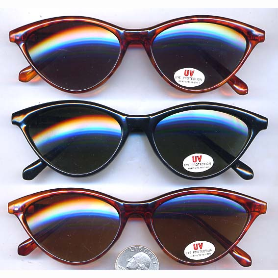 RETRO CAT EYE BASIC SUNGLASSES