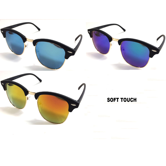 SOHO STYLE, REVO LENS, SOFT TOUCH SUNGLASSES