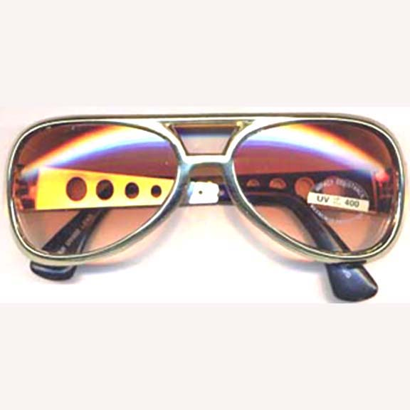 ELVIS GOLD FRAMES SUNGLASSES