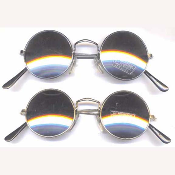 LENNONS MIRROR LENS SUNGLASSES