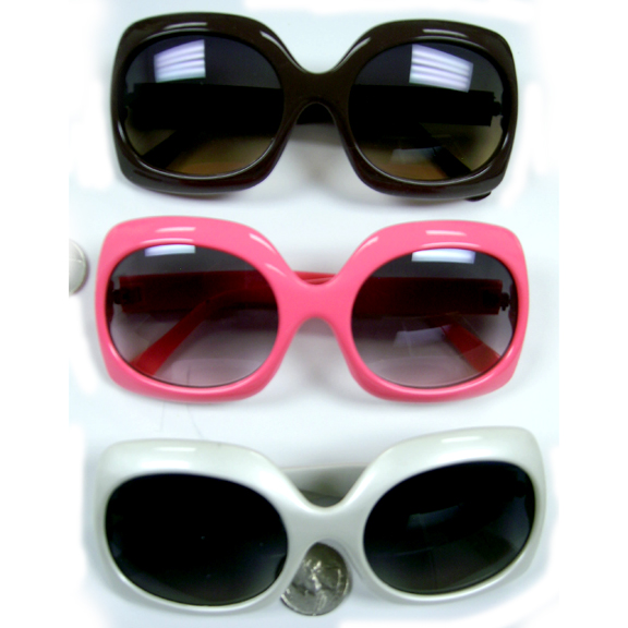 JACKIE O RECTANGLE SHAPE SUNGLASSES IN 3 COLORS