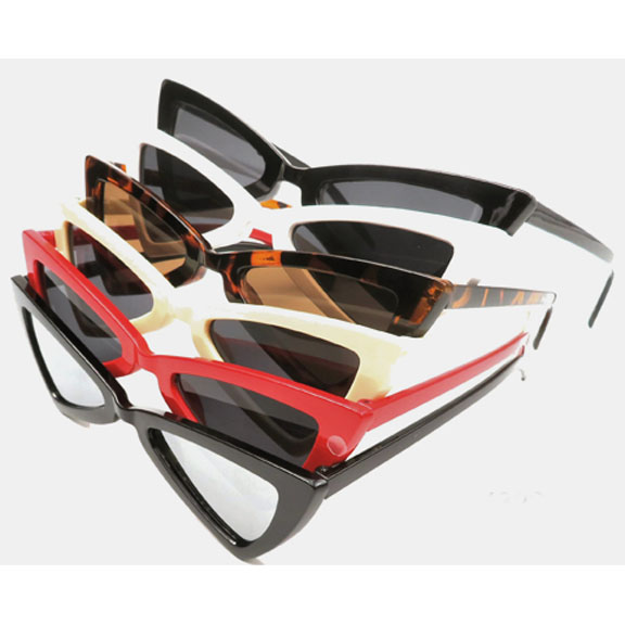 FUNKY/MOD SHAPE FRAMES IN ASSORTED COLORS