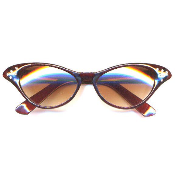 CAT EYE TORTOISE COLOR SUNGLASSES