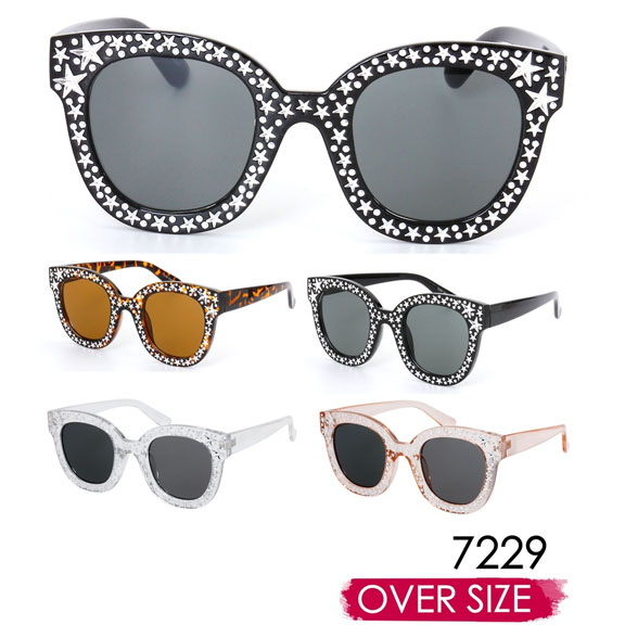 STARS LOOK ON FRAMES COOL SHAPE AND GOOD LOOKING SUNGLASSES