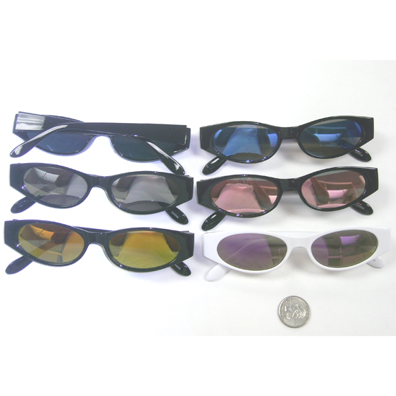 SMALL FRAMES UNISEX SUNGLASSES, REVO LENSES