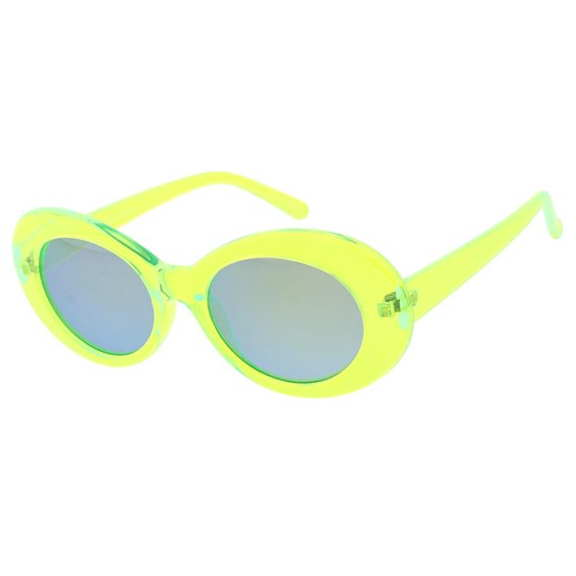 CLOUT NEON SUNGLASSES, 4 COLORS, REVO LENS