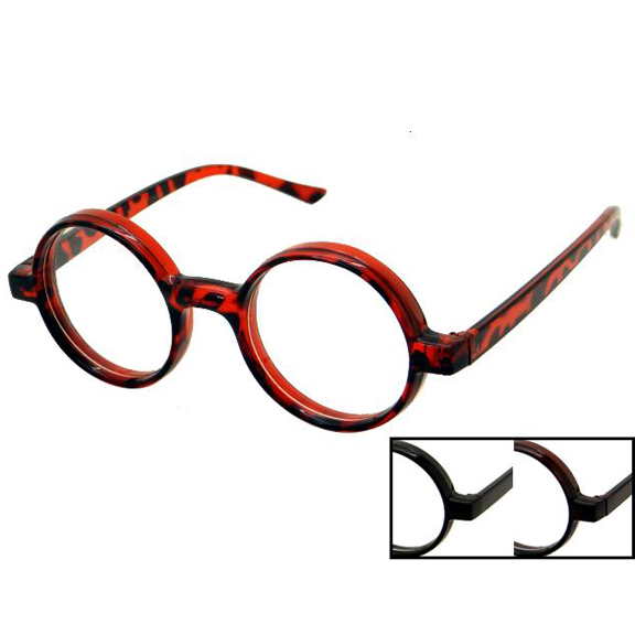 CLEAR LENS ROUND FRAME NERD GLASSES