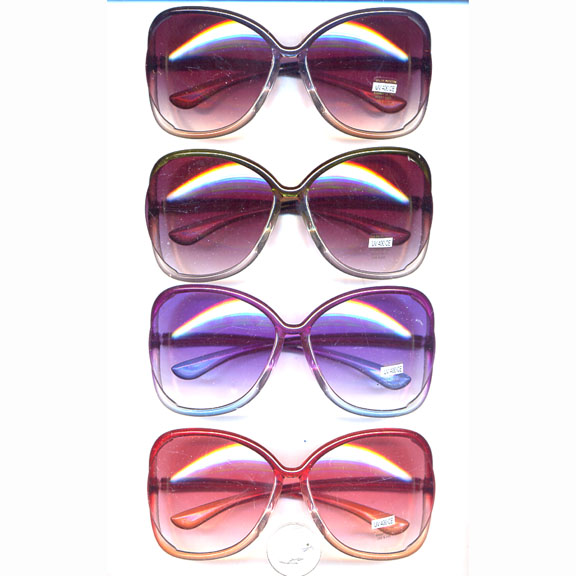 LADIES LARGE MORE CURVE  COLOR TRANSITIONS FRAMES SUNGLASSES