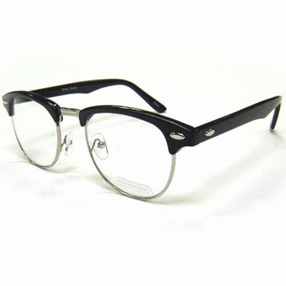 CLEAR LENS SOHO CLASSIC STYLE FRAMES