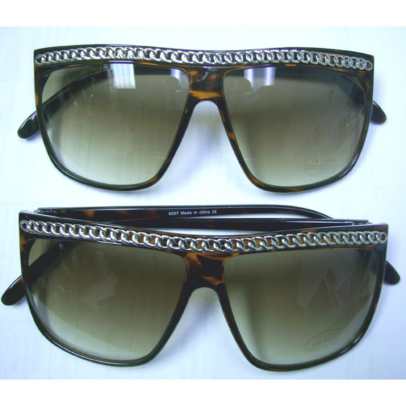 80'S CHAIN TOP RETRO LOOKING  SUNGLASSES