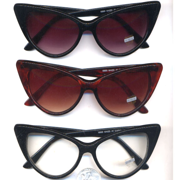 CAT EYE RETRO BASIC SUNGLASSES