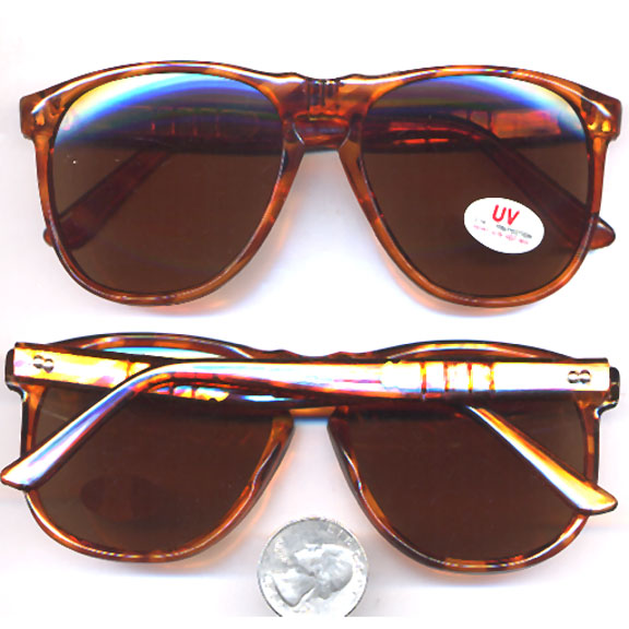 BLUES BROTHERS ALMOST STYLE RETRO TORTOISE SUNGLASSES