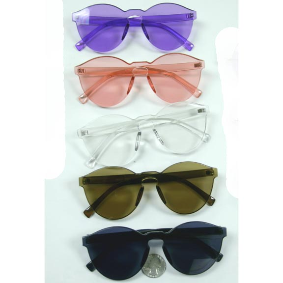 INJECTION MOLD COOL HIP SUNGLASSES 5 COLORS