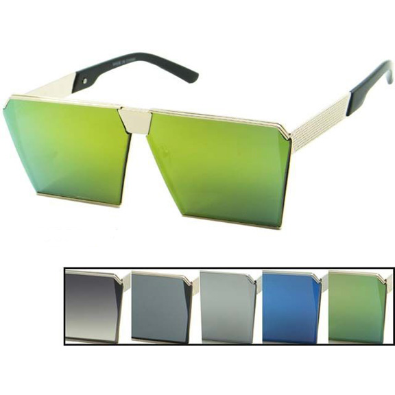 FLAT FRAMES, REVO LENS, SHARP ANGLES  SUNGLASSES