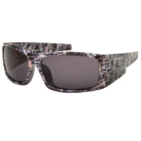 CAMO FRAMES, 4 STYLES, WIDER ARMS,POLARIZED LENS