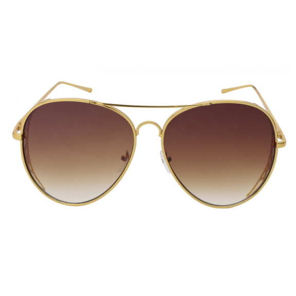 AVIATOR LOOKING BUT THICKER AND BOLDER WITH REVO & DARK LENSES
