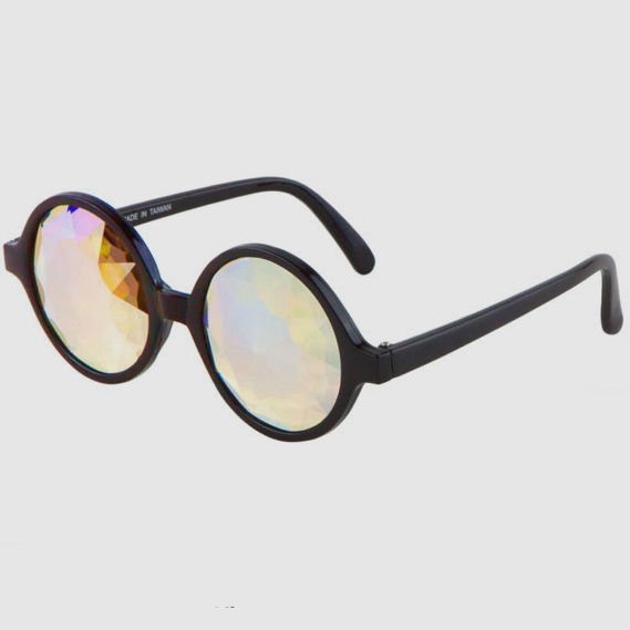 KALIEDESCOPE CLEAR LENS GLASSES