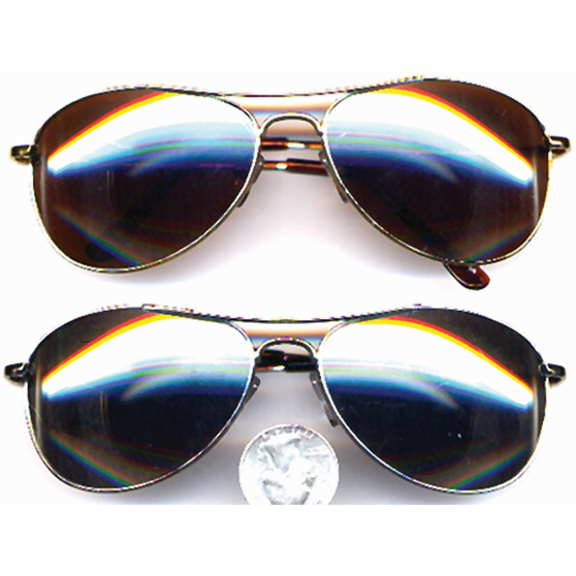 AVIATORS MIRROR LENS SUNGLASSES A BIT SMALLER