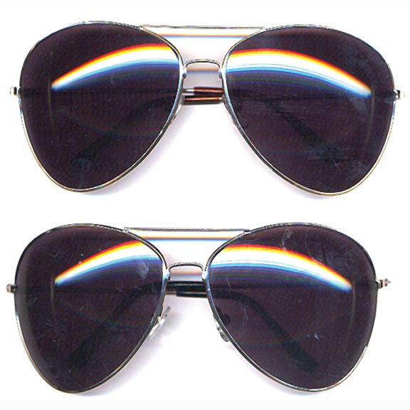 AVIATORS XL SIZE WITH DARK LENS