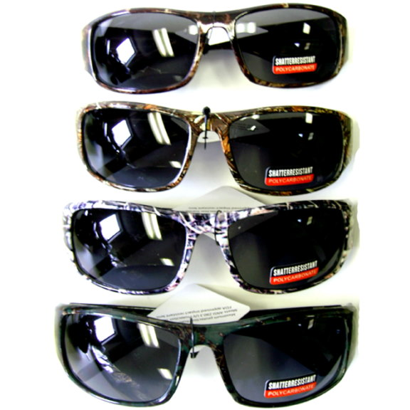 CAMO SUNGLASSES(HUNTER) POLYCARBONATE LENS