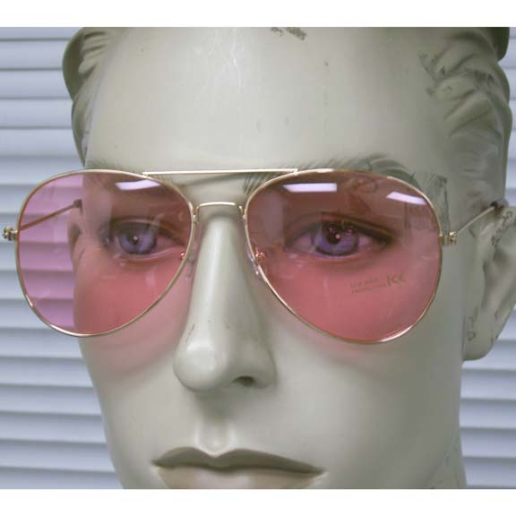 AVIATORS SOFT COLOR LENS SUNGLASSES