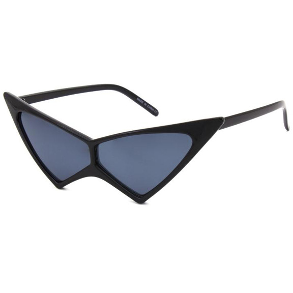 SHARP ANGEL CAT SHAPE SUNGLASSES, ASSORTED COLORS