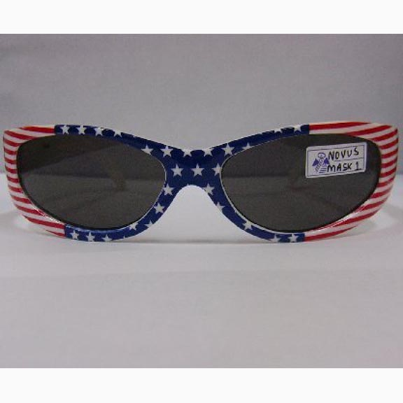 STARS AND STRIPES U.S.A COLORS SUNGLASSES